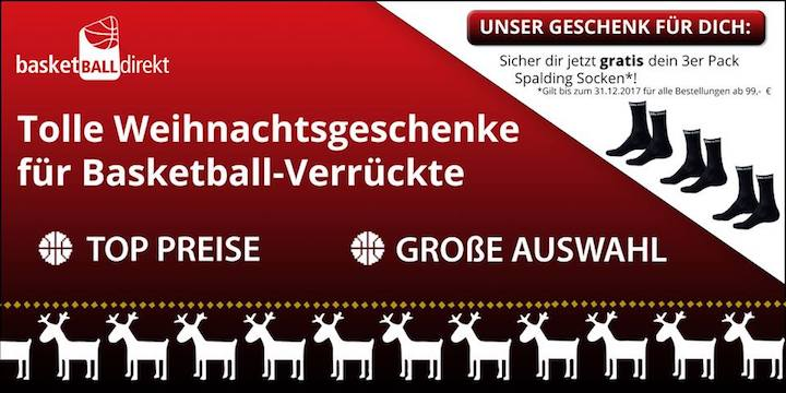 Basketball direkt Christmas